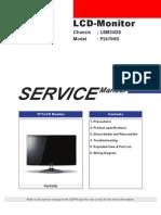 Samsung P2470HD Service Manual (EN)