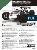 KYOSHO Inferno Neo ST Race Spec Manual