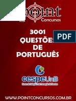 3001 - Questões CESPE - Português.pdf