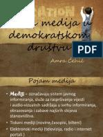 Uloga Medija u Demokratskom Društvu