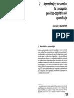 Aprendizaje y desarrollo. La concepción genético-cognitiva del aprendizaje.pdf