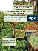 Salamatpur Sub Mandi Yard Dpr