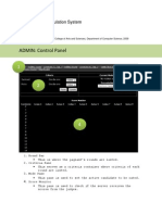 Computerized Tabulation User's Manual