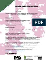 Blänkare_ Delaktighetskonferensen 2014