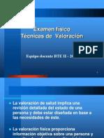 Técnicas de examen físico -2014.ppt