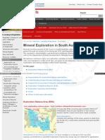 Minerals Pir Sa Gov Au Licensing and Regulation Exploration