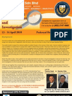 Understanding Fraud Deterrent and Investigation