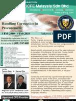 Handling Corruption in Procurement