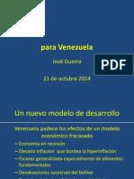 UCV Un Nuevo Modelo de Desarrollo Para Venezuela Resumen