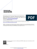 Determinants of Control System Design in Divisionalised firms