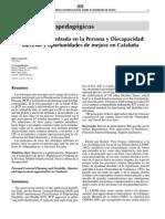 2006 Planificación Centrada en la Persona y Discapacidad, barreras y oportunidades de mejora en Cataluña.pdf