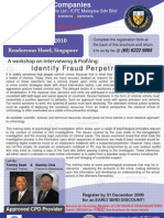 Identify Fraud Perpetrators