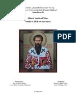Către tineri, Sfântul Vasile cel Mare.docx
