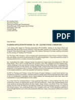 Greg Hands MP's Submission regarding the Curzon Cinema
