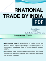 International Trade by India.pptx
