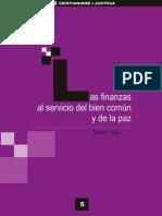 CJ Colección virtual 005 -Las finanzas al servicio del bien común y de la paz