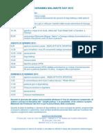 Programma XI° Malamute Day 2015