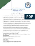 Regolamento XI° Malamute Day