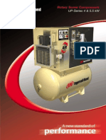 Ingersoll Rand UPS Rotary Screw Compressor