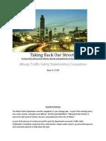 TrafficSafetyStakeholdersRecommendations June 4