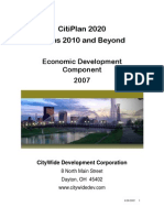 CitiPlan 20/20 Dayton - CityWide Development Focus 2010
