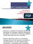 Cyber Marketing