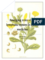 Emerging Roles of the Lymphatic System in Herbal Medicine