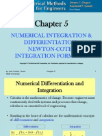 CHE 555 Newton-cotes Integration
