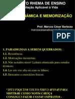 SLIDES - LEITURA DINÂMICA E MEMORIZAÇÃO.ppt