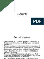 E Security Module 4