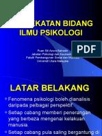 2-pendekatan bidang ilmu psikologi