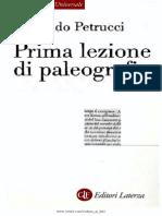 Prima Lezione Di Paleografia