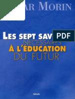 Les Sept Savoirs Nécesaires à L´education du futur.pdf