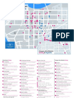 Dining & Nightlife Map - Downtown Dayton Ohio
