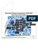 Downtown Investment Map Dayton Ohio
