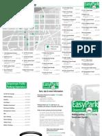 Downtown Dayton Parking Map