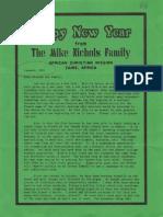 Nichols Mike Julie 1991 Zaire