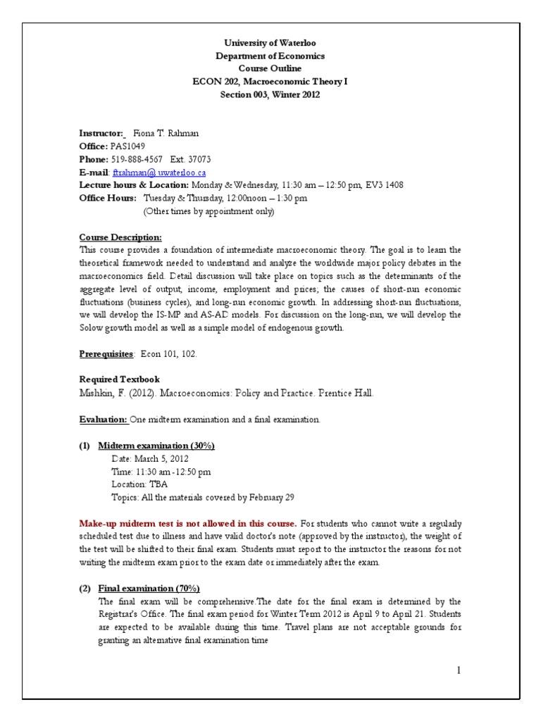 macroeconomics notes pdf for bcom