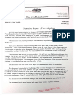 Mike Brown Autopsy Report 10-22-14 OFFICIAL