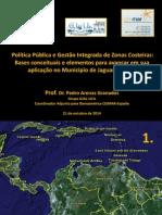 Politicas Públicas Gerenciamento Zonas Costeiras