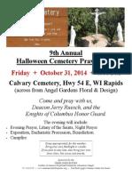 MC Halloween Prayer Vigil