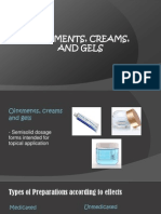 Ointments, Creams, And Gels (4) Legit
