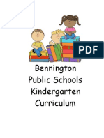 kdg curriculum guide