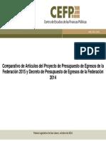 Comparado PEF 2014 vs. PEF 2015.pdf