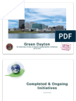Green Dayton - An Overview of City of Dayton Sustainability Initiatives - Spring 2009