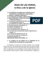La Liturgia de las Horas,Obra de Dios  y de la Iglesia.docx