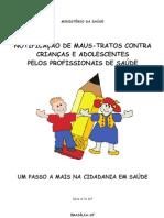 Notificação de maus-tratos contra criancas e adolescentes
