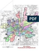 Dayton Ohio Priority Board Map