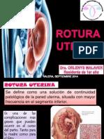 ROTURA UTERINA 2014.pptx