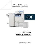 Ricoh aficio 340, aficio 350, aficio 450 service manual download.